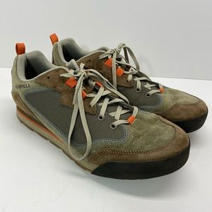 merrell burnt rock travel suede shoes